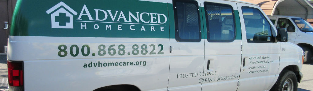 advanced home care fleet van
