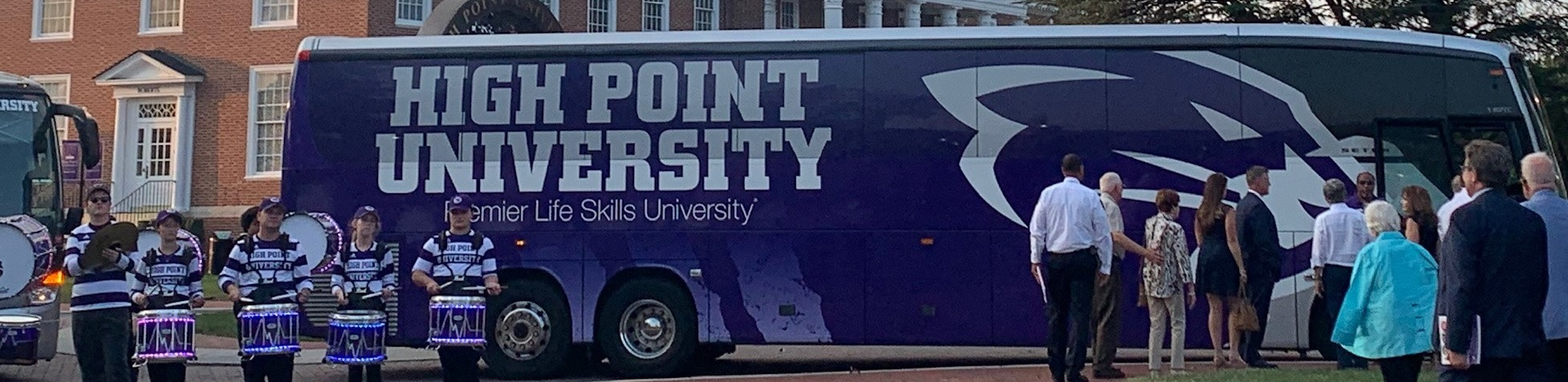 high point university bus